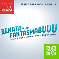RENATA Y LOS FANTASMASBUUU... TEATRO LA PLAZA - MIRAFLORES - LIMA