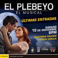 EL PLEBEYO AUDITORIO DEL COLEGIO SANTA URSULA - SAN ISIDRO - LIMA