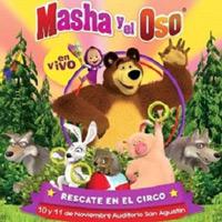 MASHA Y EL OSO - RESCATE EN EL CIRCO 2018 AUDITORIO DEL COLEGIO SAN AGUSTIN - SAN ISIDRO - LIMA