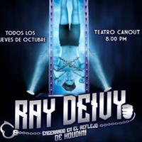 RAY DEIVY - ENCERRADO EN EL REFLEJO DE HOUDINI TEATRO CANOUT - MIRAFLORES - LIMA