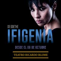 IFIGENIA DE J.W. GOETHE TEATRO RICARDO BLUME - LIMA