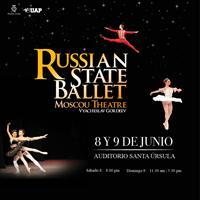 ESTRELLAS DEL BALLET ESTATAL DE RUSIA AUDITORIO SANTA ÚRSULA - LIMA