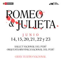 ROMEO & JULIETA GRAN TEATRO NACIONAL - SAN BORJA - LIMA