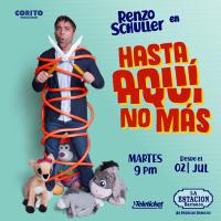 RENZO SCHULLER: HASTA AQUÍ NO MAS ESTACIÓN DE BARRANCO - BARRANCO - LIMA