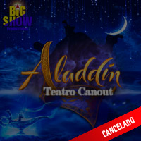 ALADDIN EL MUSICAL TEATRO CANOUT - MIRAFLORES - LIMA