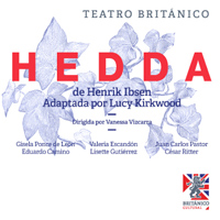 HEDDA TEATRO BRITANICO - MIRAFLORES - LIMA