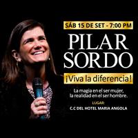 PILAR SORDO - VIVA LA DIFERENCIA CENTRO DE CONVENCIONES MARIA ANGOLA - LIMA