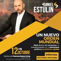 DEVOLUCION: CONFERENCIA MAGISTRAL: DANIEL STULIN CENTRO DE CONVENCIONES LIMA - LIMA
