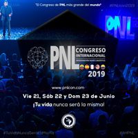 CONGRESO INTERNACIONAL DE PNL 2019 CENTRO DE CONVENCIONES MARIA ANGOLA - LIMA