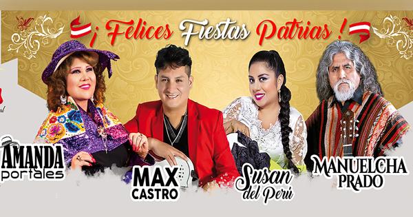 Entradas Fiestas Patrias de Canto Andino