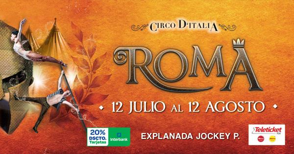 Entradas a Circo Ditalia Roma