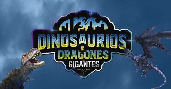 Entradas a Dinosaurios y dragones animatronics