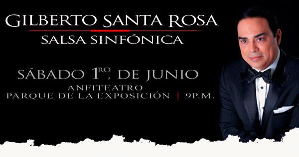 Entradas a Gilberto Santa Rosa