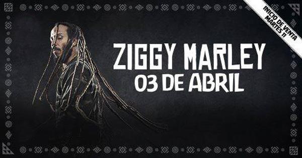 Entradas a Ziggy Marley